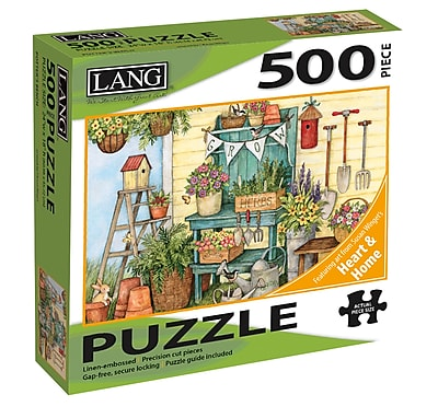 LANG POTTERS BENCH PUZZLE - 500 PC (5039159)