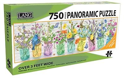 LANG HERB JARS PUZZLE - 750 PC PANORAMIC (5041016)