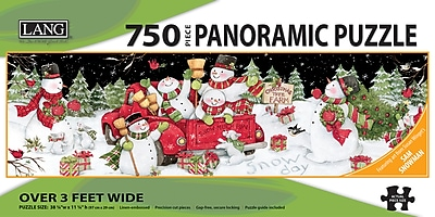 LANG SNOW DAY PUZZLE - 750 PC PANORAMIC (5041017)