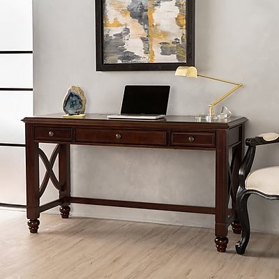 Noble House York Computer Desk Cherry (299133)