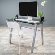 Noble House North Computer Desk Gray (295592)