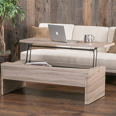 Noble House Claude Coffee Table Dark Sonoma (296005)