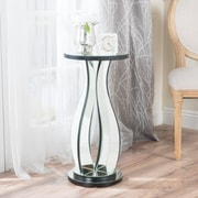 Noble House Sena Side Table Clear-Mirror (298854)