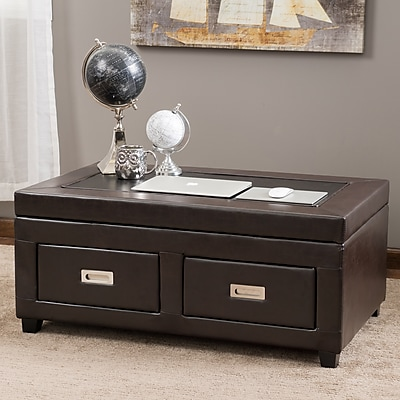 Noble House Andrew Ottoman Table Brown (295610)
