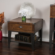 Noble House Clark Side Table Dark Oak (296330)