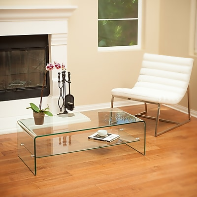 Noble House Richmond Coffee Table Transparent (295058)