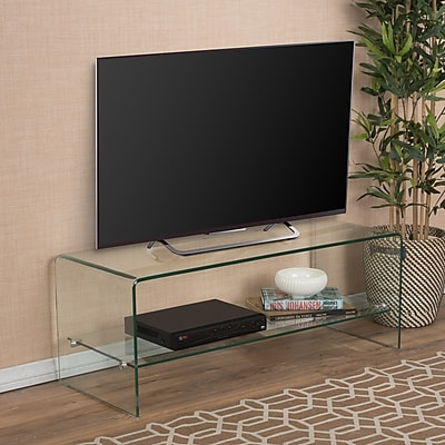 Noble House Reilly Entertainment TV Console Clear (296721)