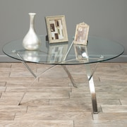 Noble House Patrick Coffee Table Clear (295400)