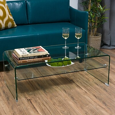 Noble House Reilly Coffee Table Clear (296675)