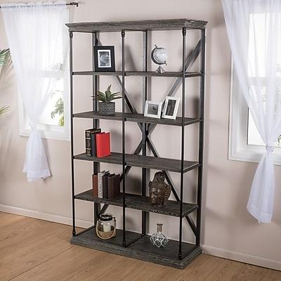 Noble House Dillon 5 Shelf Bookcase 81.75
