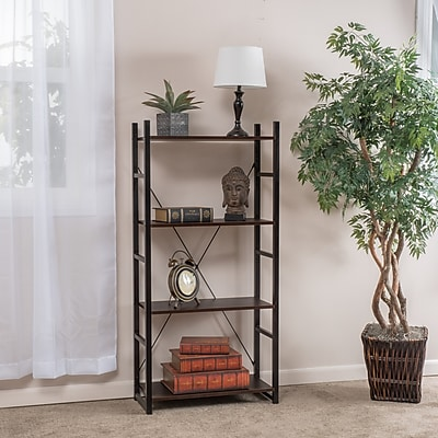 Noble House Franklin 4 Shelf Bookcase 53.54