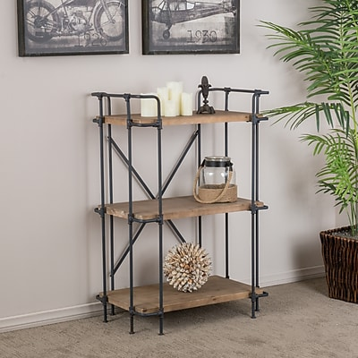 Noble House Deacon 3 Shelf Bookcase 40.50