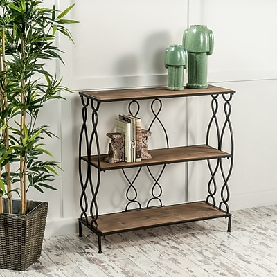 Noble House Freeman 3 Shelf Bookcase 34
