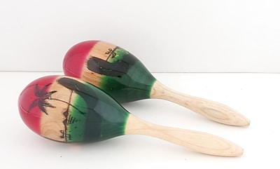 Westco Medium Wood Maracas, 3.5