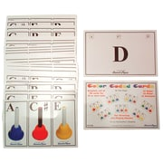 Sweet Pipes 36 Color Coded Handbell Cards