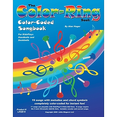 Little Ringers Color-Ring Book, 19 Songs