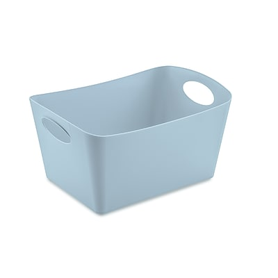 Koziol BOXXX S 1 Liter Storage Bin Solid Powder Blue (5745639)