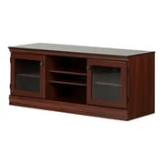 South Shore Morgan TV Stand for TVs up to 75'', Royal Cherry (10533)
