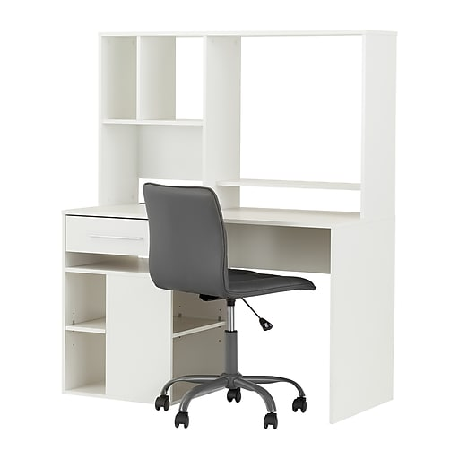 Shop Staples For South Shore Annexe Pure White Desk And