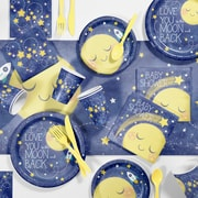 Creative Converting To the Moon and Back Baby Shower Kit, 1 pk (DTC2293E1S)