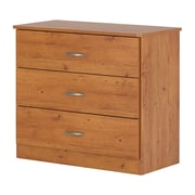 South Shore Libra 3-Drawer Chest, Country Pine (10680)