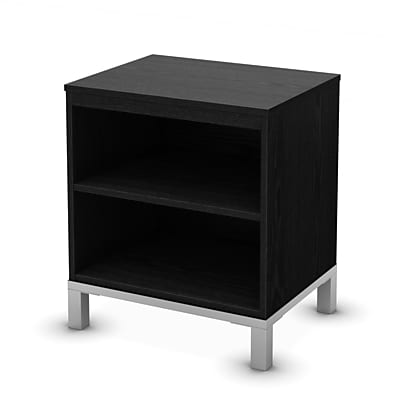 South Shore Flexible Storage Table, Black Oak (3347059)