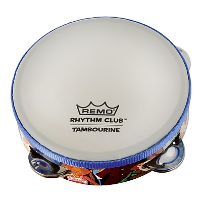 Remo Rhythm Club Tambourine, 4 sets of Jingles 20002186