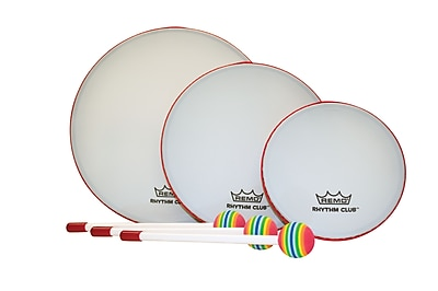 Remo Rhythm Club Hand Drum, Set of 3 20002185