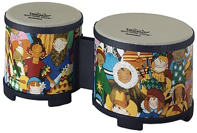 Remo Rhythm Club Bongo, Set of 2 20002183