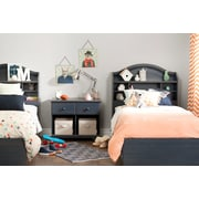 South Shore Summer Breeze Twin Mates Bed (39'') with 3 Drawers, Blueberry (3294080)
