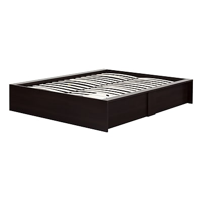 South Shore Fusion Ottoman Queen storage bed (60