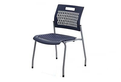 MityLite Adapt Steel Lightweight Stacking Chair, Navy (1SFSLSNAV)