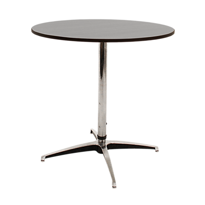 """MityLite 30"""" Adjustable Leg Cocktail Table, ABS Plastic, Gray (CT30GRY4021)"""