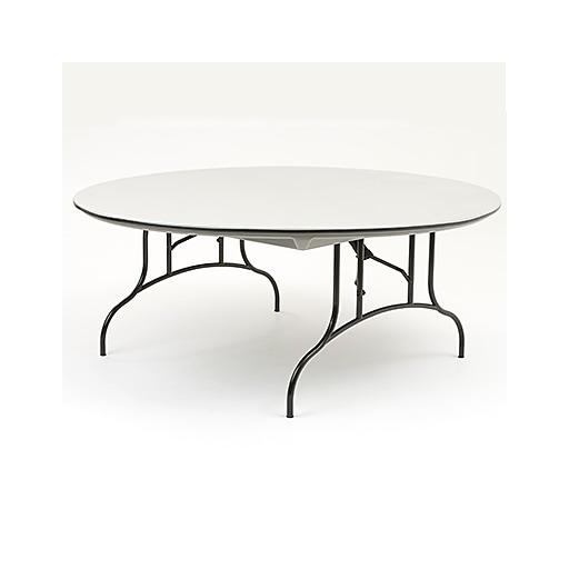 Awe Inspiring Mitylite 72 Round Table Abs Plastic Gray Ct72Grb1 Interior Design Ideas Gentotryabchikinfo