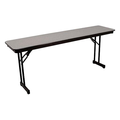 Superb Mitylite 18X72 Table Abs Plastic Gray Rt1872Grb12 Interior Design Ideas Gentotryabchikinfo