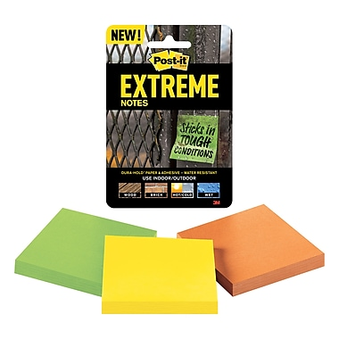 Post-it® Extreme Dura-Hold™ Notes, 3