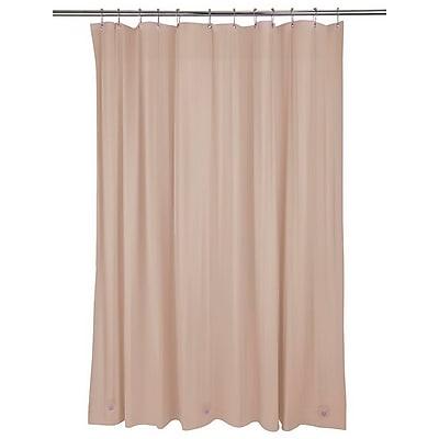 Bath Bliss Shower Liner, Heavy Grommet, Taupe (5241)