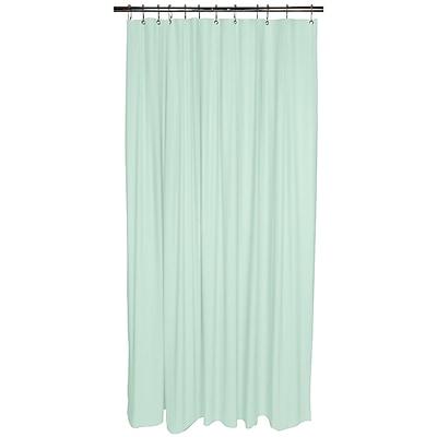 Bath Bliss Shower Liner, Heavy Grommet, Mint (5236-48)