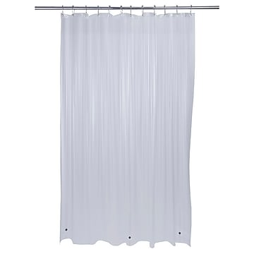Bath Bliss Shower Liner, Heavy Grommet, Clear (5240-48)