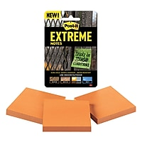 3 Pack Post-it Extreme Notes, 3-inx3-in Orange 3 Pads Deals