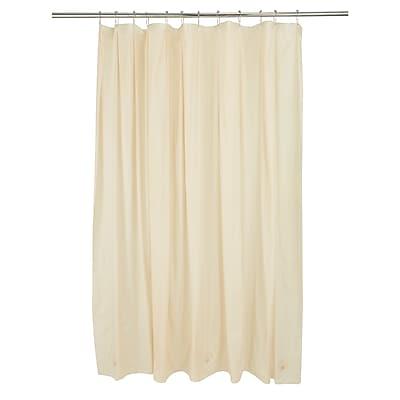 Bath Bliss Shower Liner, Beige (5002)