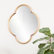 Holly & Martin Willis Decorative Wall Mirror, Gold