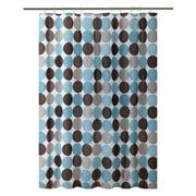 Bath Bliss Shower Curtain, Circles Design, (5393)