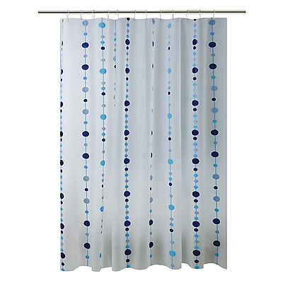 Bath Bliss Shower Curtain, Blue Chandelier Design (5385)