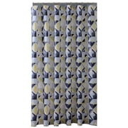 Bath Bliss Shower Curtain, Geometric Design (5389)