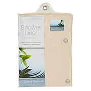 Bath Bliss Shower Liner, Splash Guard, Beige (5852)