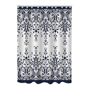 Bath Bliss Shower Curtain, Bamboo Jacquard European Lace Design (25880)