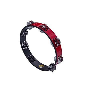 Remo Red Headless Double Tambourine, 10