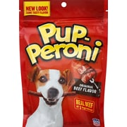 Pup-Peroni Original Beef Flavor Dog Treats, 5.6 oz. Pouch (SMU51021CS)