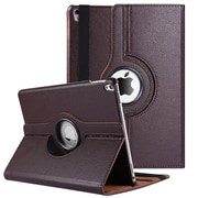 Vangoddy 360 Rotating Leather Case for iPad Pro 10.5, Brown (IPPLEA922)